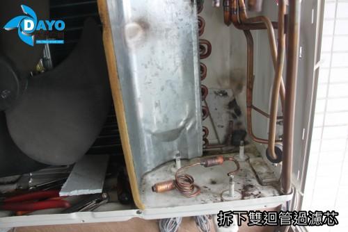 修理熱泵 業主找好幾位師傅都無法修好